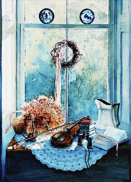 Doily Painting - Sunshine Treasures by Hanne Lore Koehler