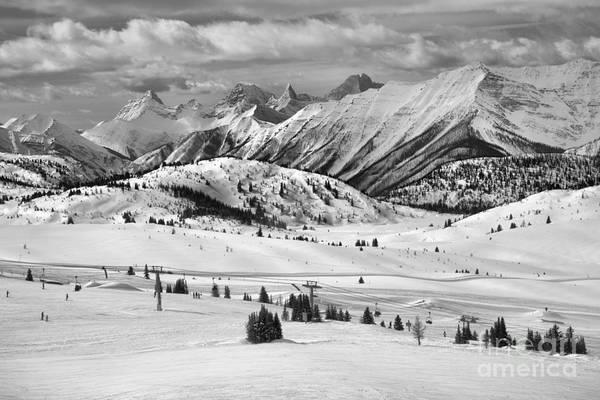 Photograph - Sunshine Village Canadian Rocky Views Sunshine Village by Adam Jewell