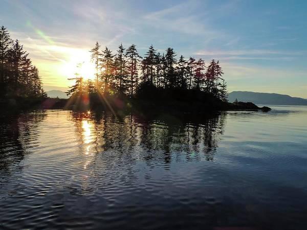 Photograph - Sunstar Announcing Dusk by NaturesPix