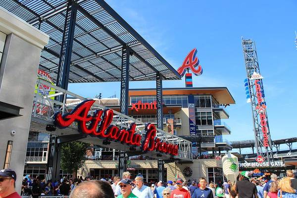 Photograph - Suntrust Park by Richard Parks