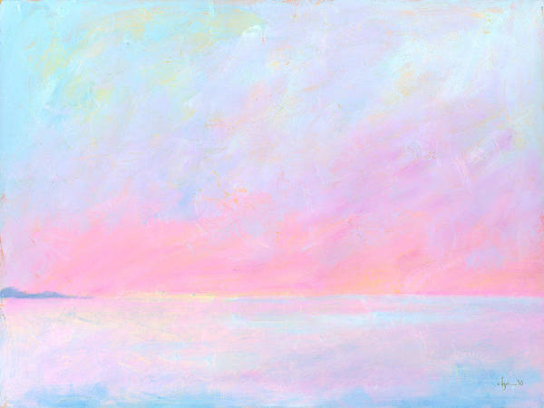 Painting - Sunup Over Kailua by Angela Treat Lyon