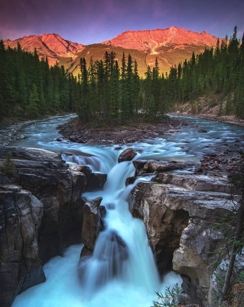 Wall Art - Photograph - Sunwapta Falls by Cale Best