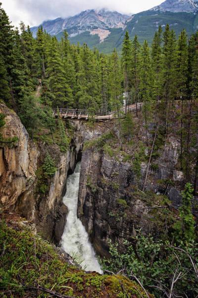 Photograph - Sunwapta Falls Jasper Alberta by Joan Carroll