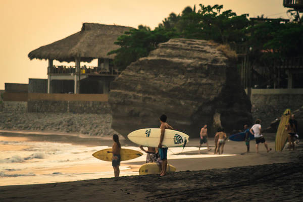 La Libertad Photograph - Sunzal Beach by Totto Ponce