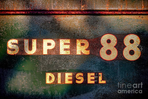 Oliver Photograph - Super 88 Diesel by Olivier Le Queinec