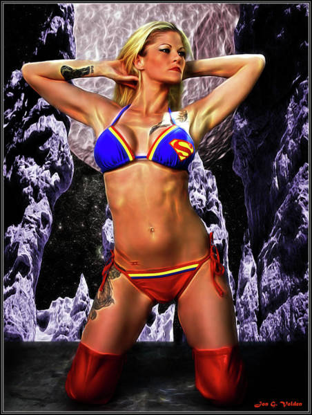 Photograph - Super Bikini by Jon Volden