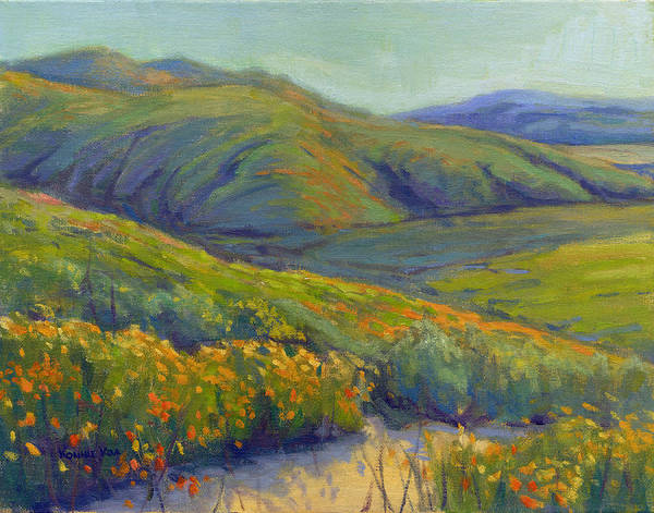 Painting - Super Bloom 1 by Konnie Kim