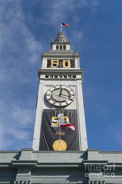 Photograph - Super Bowl 50 At San Francisco Ferry Building Super Bowl City 2016 Dsc4034 by Wingsdomain Art and Photography