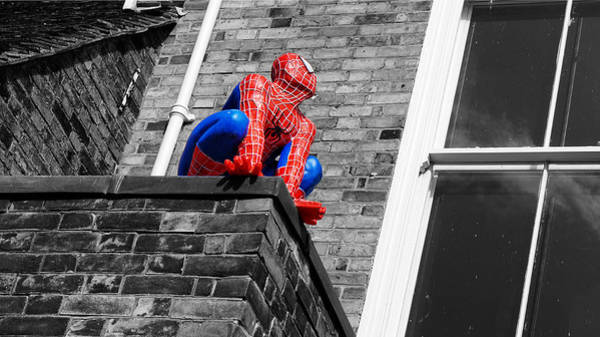 Photograph - Super Hero by Pedro Fernandez