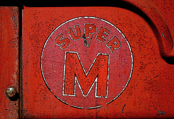 Photograph - Super M Graphic  0690 H_3 by Steven Ward