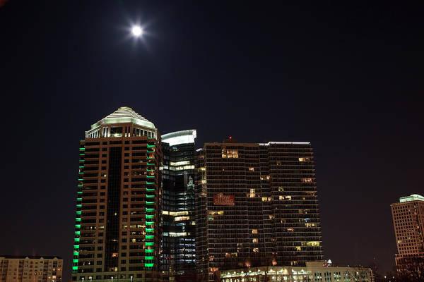 Photograph - Super Moon Over Atlanta by Jill Lang