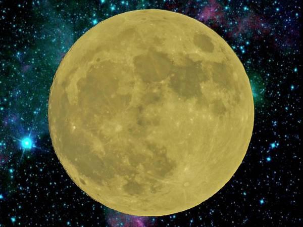 Digital Art - Super Moon by Rusty R Smith