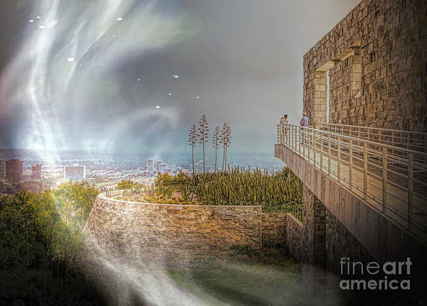 Wall Art - Photograph - Super Natural Aliens Are Coming Getty Museum  by Chuck Kuhn