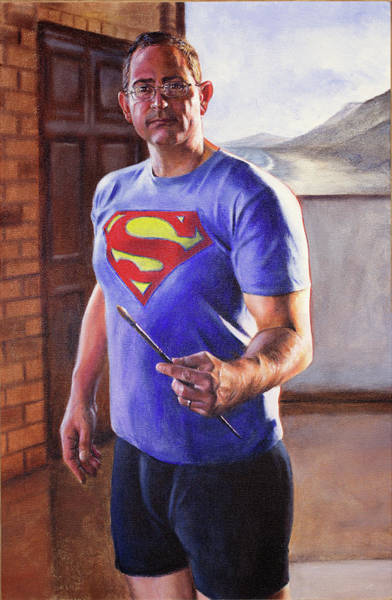 Painting - Super Selfie by Christopher Reid