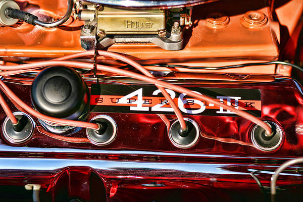 426 Photograph - Super Stock Ss 426 IIi Hemi Motor by Gordon Dean II