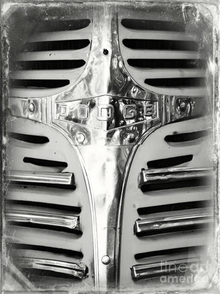 Photograph - Super Tough Truck Black And White by Carol Groenen