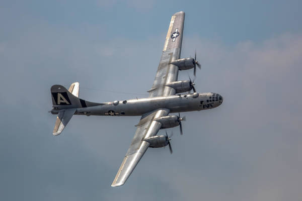 Superfortress Photograph - Superfortress by Bill Lindsay