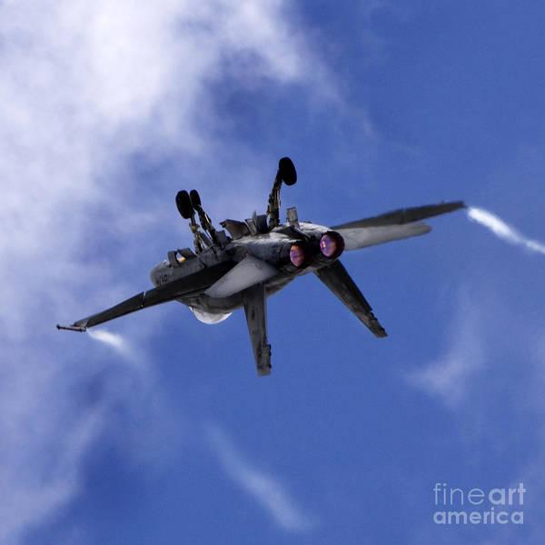 A-18 Hornet Wall Art - Photograph - Superhornet by Angel Ciesniarska