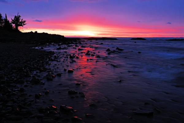 Photograph - Superior Dawn by Larry Ricker