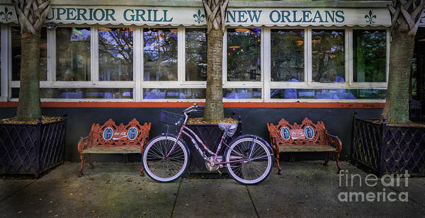Photograph - Superior Grill Bicycle by Craig J Satterlee
