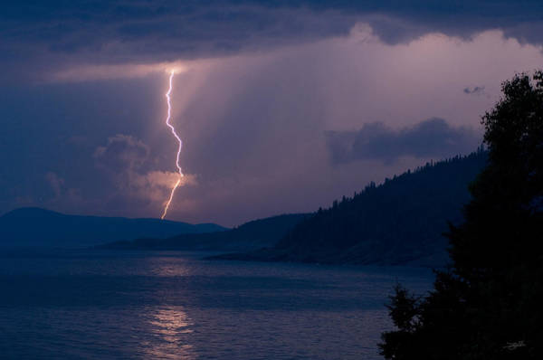 Photograph - Superior Lightning     by Doug Gibbons