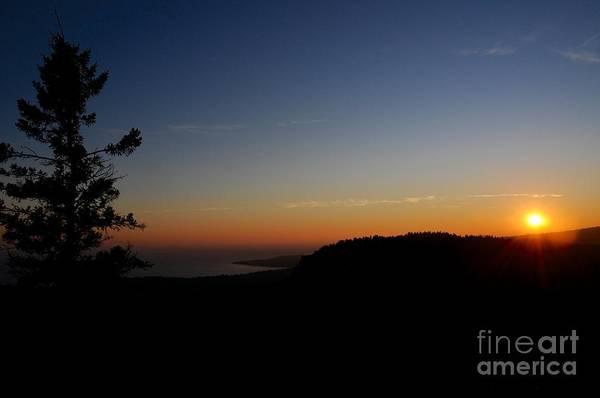 Wall Art - Photograph - Superior Ridge Sunset by Sandra Updyke