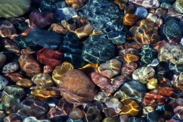 Wall Art - Photograph - Superior Rocks 1 by Heather Kenward