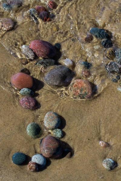 Wall Art - Photograph - Superior Rocks 2 by Heather Kenward