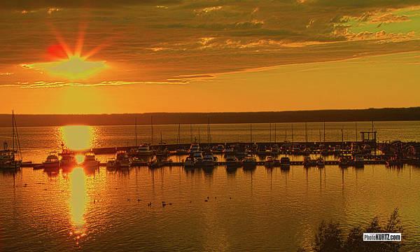 Photograph - Superior Sunset by Jeff Kurtz