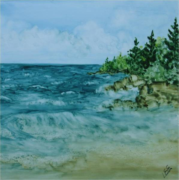 Painting - Superior Waters by Pamela Lee