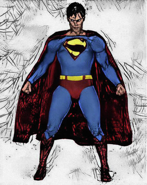 Photograph - Superman At The Fortress Of Solitude by Bill Cannon