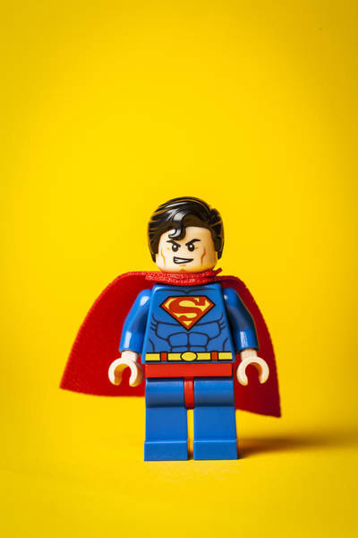 Super Photograph - Superman - Man Of Steel by Samuel Whitton