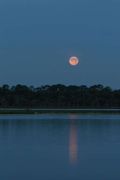 Photograph - Supermoon Dawn 2013 #2 by Paul Rebmann