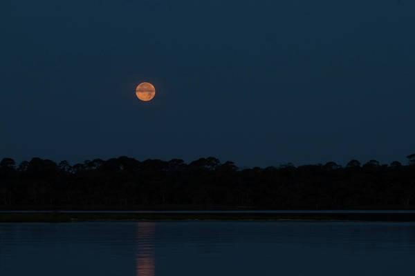 Photograph - Supermoon Dawn 2013 by Paul Rebmann