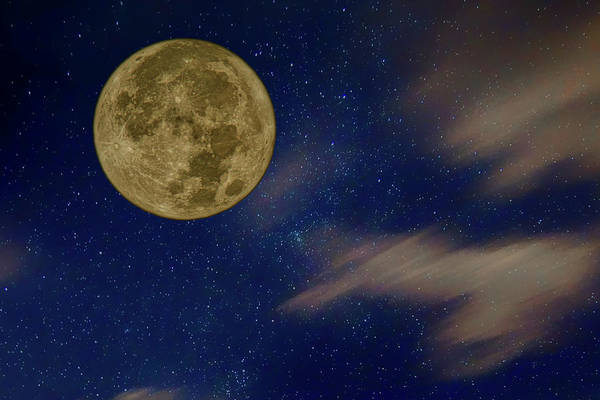 Perigee Moon Photograph - Supermoon - Night Sky by Nikolyn McDonald