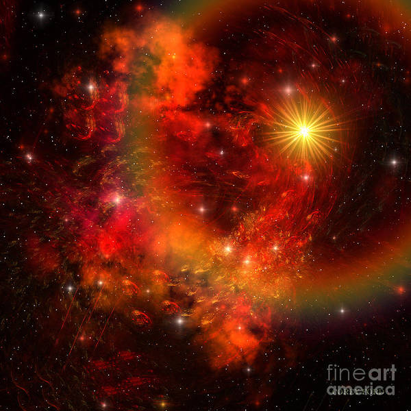 Endless Painting - Supernova by Corey Ford