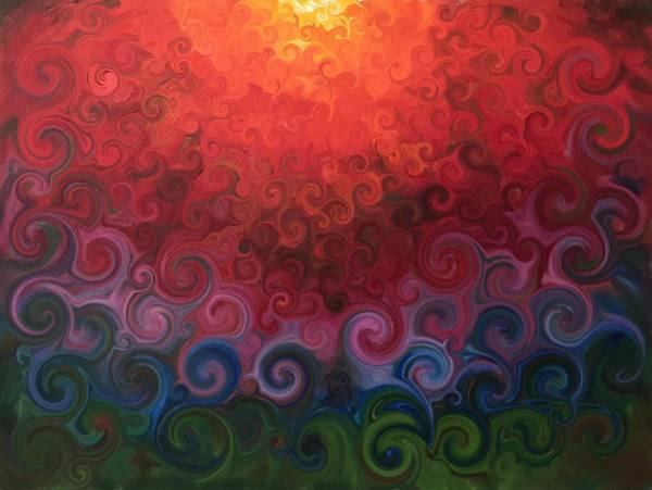 Wall Art - Mixed Media - Supernova by Kate Segriff