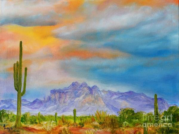 Wall Art - Painting - Superstition Love by Ann Loyd