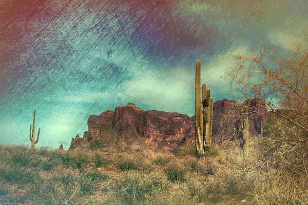 Photograph - Superstition Mountain by Grace Dillon