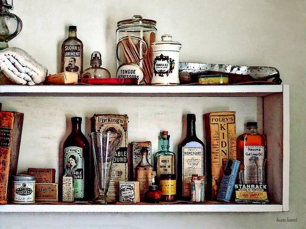Photograph - Supplies In Doctor's Office by Susan Savad