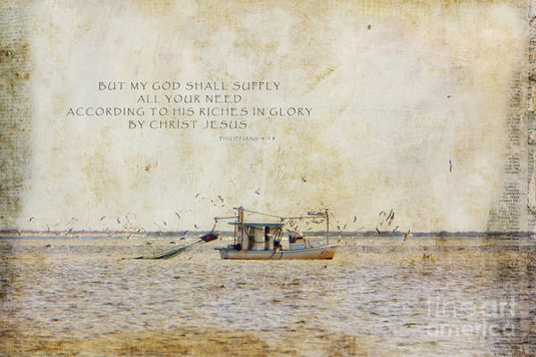 Bible Quotes Photograph - Supply by Joan McCool
