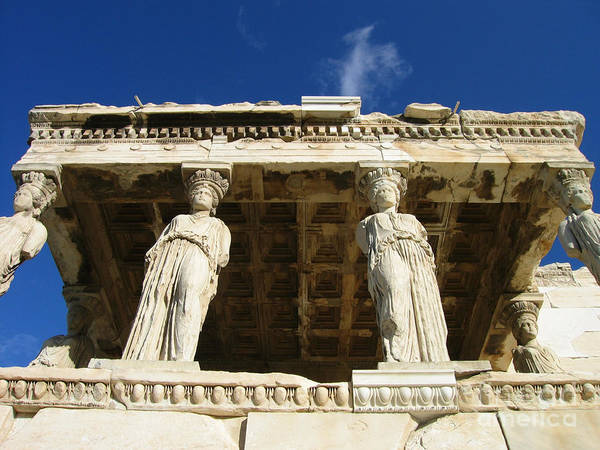 Erechtheion Photograph - Supporting Classical Athens by Clay Cofer