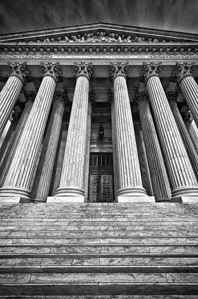 Photograph - Supreme Court Building 10 by Val Black Russian Tourchin