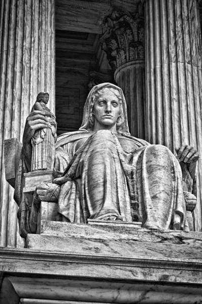 Photograph - Supreme Court Building 13 by Val Black Russian Tourchin