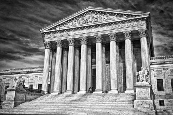 Photograph - Supreme Court Building 2 by Val Black Russian Tourchin