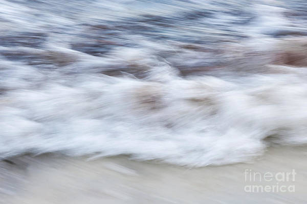 Photograph - Surf Abstract 2 by Elena Elisseeva