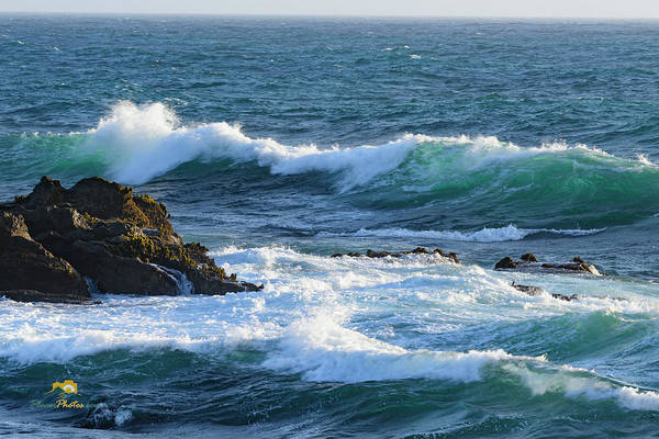 Photograph - Surf And Rock by Jim Thompson