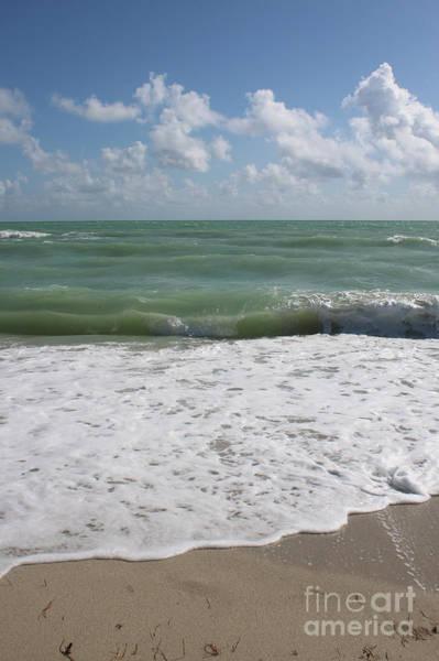 Photograph - Surf And Sandy Beach by Carol Groenen