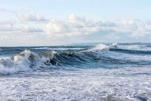 Photograph - Surf And Sky by Robert Potts