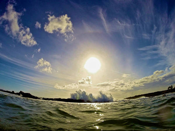 Photograph - Surf At Sunset by Steven Lapkin